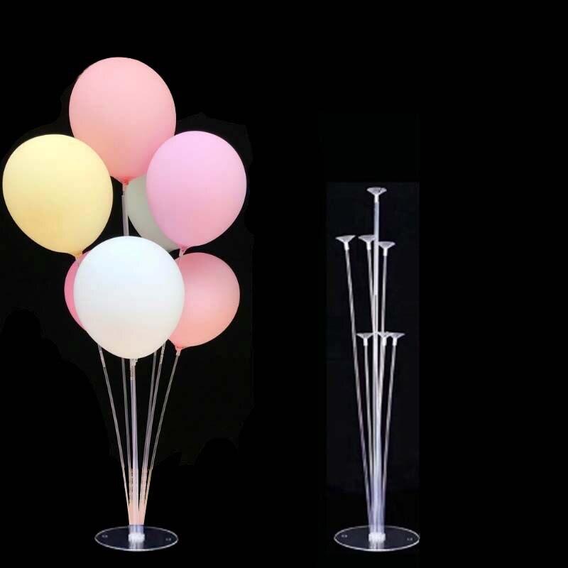 Balloon Stand Balloon Table Floating Column Happy Birthday Party Decor Kids Baloon Wedding Birthday 1st Ballon Accessories