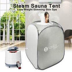 2 l terapia Spa SPA 1000W olla de vapor herramienta de belleza plegable Sauna tienda de campaña pérdida de peso Spa de piel para el cuidado de la salud Personal adelgazamiento