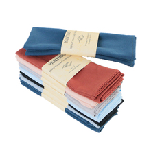 A Set Of 6 Cotton Cloth Napkins Soft And Comfortable Reusable 30X45cm Suitable For Weddings Birthdays Family Gatherings