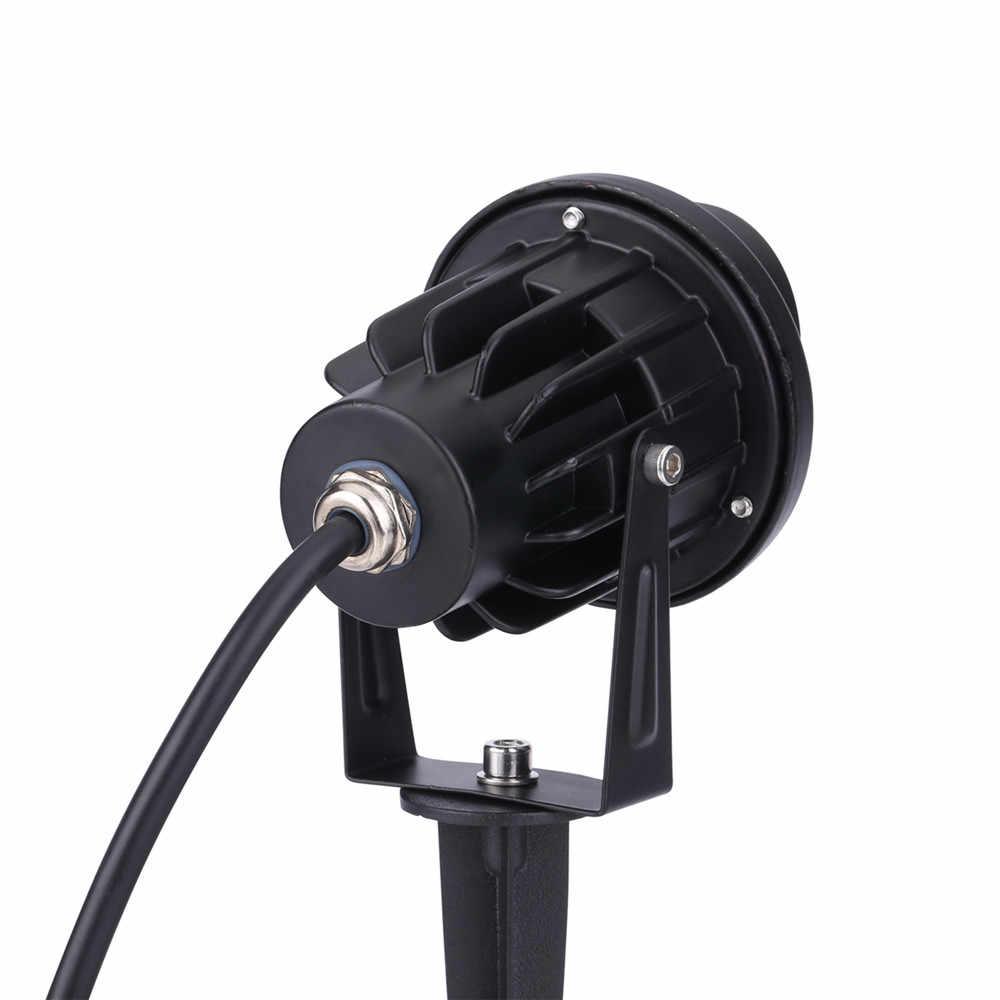 10W Cob Rgb Tuin Lamp Outdoor Led Gazon Licht Met Afstandsbediening Waterdichte IP65 Landschap Spot Spike Licht AC85-265V Eu/Us