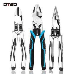 Dtbd Industriële Grade Draad Tang Set Stripper Crimper Snijder Naald Neus Nipper Draad Strippen Krimpen Multifunctionele Hand Tool