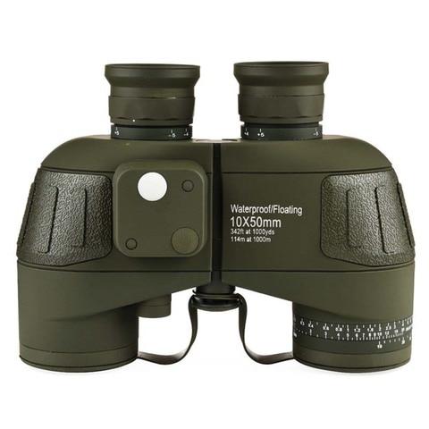 nanoo militar hd 10x50 camuflagem binoculos com