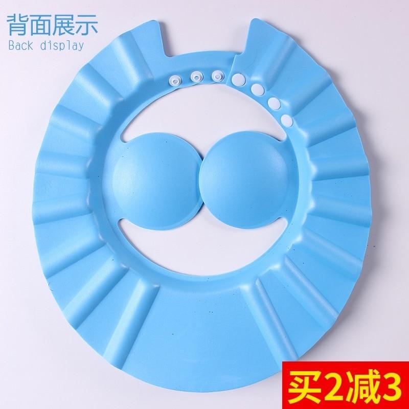 Baby Shampoo Cap Kids Waterproof Cap Earmuff Shower Cap Infant CHILDREN'S Bathing Shower Cap Bath Cap Adjustable Extra-large Thi