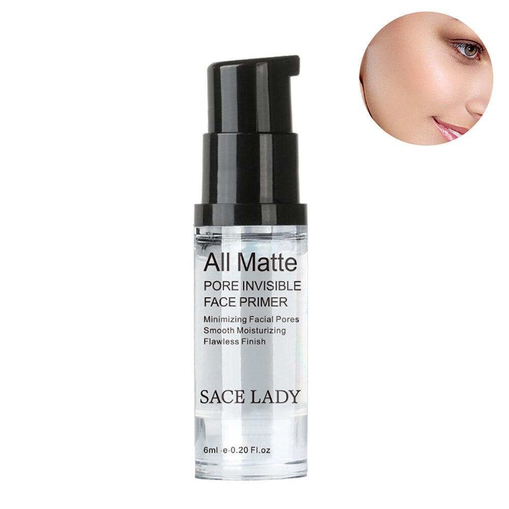 Праймер для макияжа, матирующий праймер для уменьшения пор, скрытые морщины и разглаживание тонких линий, праймер для лица для жирной кожи, ...