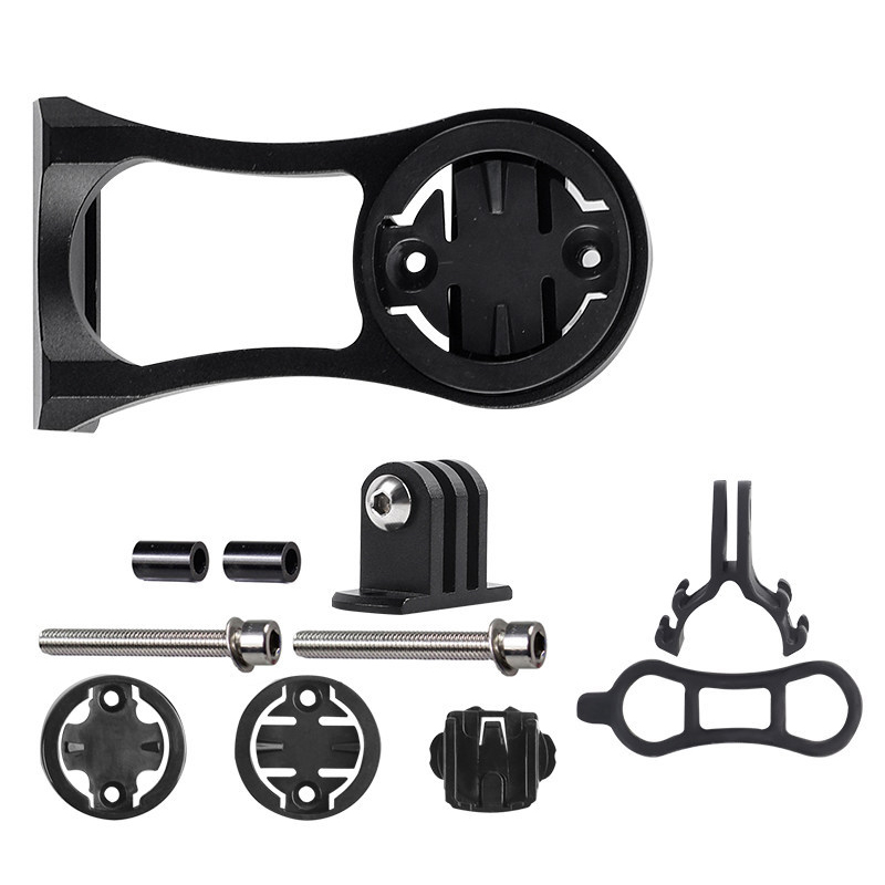 MTB Road Bicycle Computer Camera Mount Holder Out front bike Mount from bike mount accessories for Garmin Bryton GoPro CATEYE