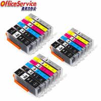 Compatible ink Cartridge PGI-150 CLI-151 PGI150 CLI150 For Canon PIXMA MG6310 MG7110 MG5410 MG5510 MG7510 Ip8710 printer