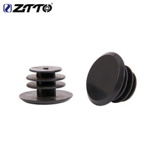 1pcs ZTTO MTB Road Bicycle Handlebar End Plugs Caps Plastic PVC Handle Grip Bar Stoppers