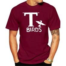 Camiseta masculina 2021 t-aves graxa graxa 1950s filme de volta impressão feminina