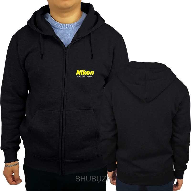 Nikon professionnel à capuche imprimé vêtements nouveau noir S-3XL personnalisé imprimé sweat à capuche hip hop drôle sweat sbz3240