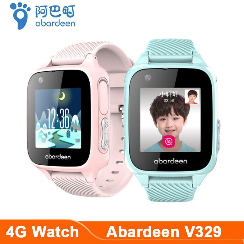 Abardeen V329 Kids Smart Watch GPS IP67 Waterproof Smart baby watch 4G/3G/2G SIM Card Music video call IOS Android Phone Watch|Smart Watches|   - AliExpress