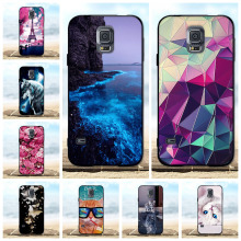 For Samsung Galaxy S5 Case Luxury Silicone Soft Cover i9600 G900F 3D Cute Neo SM-G903F Cases