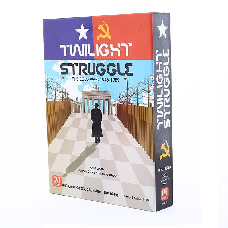 14Age+ 2 Player Twilight Struggle The Cold War Board Game Russia Cold War English Version