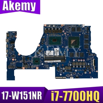 915554-001 For HP OMEN Q174 17-W 17T-W 17-W151NR Laptop Motherboard 915554-601 DAG38DMBCC0 GTX/1070 8GB i7-7700HQ Tested Working