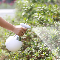 1L hand held automatic watering flower electric spray pot gardening potted charging rotating adjustment watering can sprayer