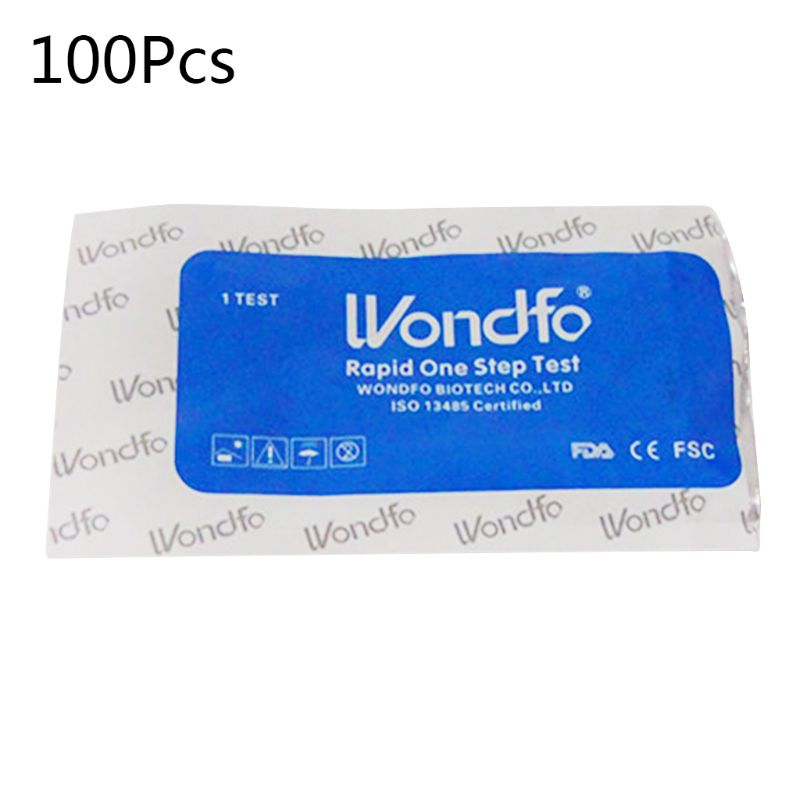 100pcs Pregnancy Test Strips Ultra Early HCG Urine Home Test Kits One Step High sensitivity image