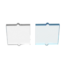 BuildMOC, совместимые сборы из частиц, стекло 60601 для окна, 1x2x2 для строительных блоков, детали «сделай сам», логотип, развивающие технические игр...