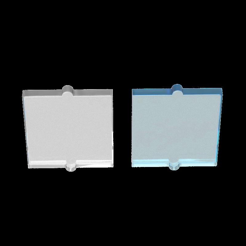 Buildmoc Tương Thích Tập Hợp Các Hạt 60601 Kính Cho Cửa Sổ 1X2X2 Cho Các Khối Xây Dựng Phần Tự Làm Logo Giáo Dục công Nghệ Đồ Chơi