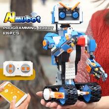 Yeshin, креативные игрушки-роботы, совместимые с Legoing, 17101, сапоги, набор креативных инструментов, программирование, робот, Buidling, блоки, игрушки