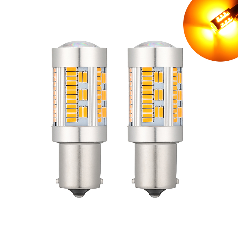 1PC 1156 P21W <font><b>LED</b></font> Canbus BA15S PY21W BAU15S Bulb <font><b>12V</b></font> 4014 105SMD T20 7440 w21w <font><b>LED</b></font> For Reverse Turn Signal Light No Hyperflash image