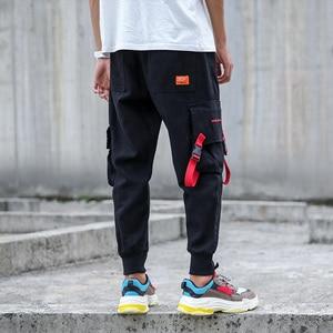 Image 5 - SingleRoadผู้ชายสินค้ากางเกงผู้ชายHip Hopญี่ปุ่นStreetwearริบบิ้นกางเกงผู้ชายกางเกงบุรุษกางเกงJoggersกางเกงชายแฟชั่นSweatpantsชาย