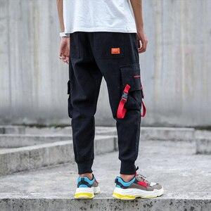 Image 5 - SingleRoad Mens Cargo Pants Men Hip Hop Japanese Streetwear Ribbon Pants Men Mens Trousers Joggers Male Fashion Sweatpants Man