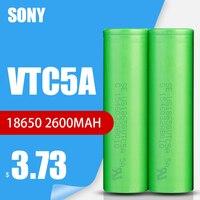 1-10 pezzi Sony 100% originale 3.6v 18650 VTC5A 2600mah batteria ricaricabile al litio Discharge 30A scarica per giocattoli torcia