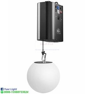 Image 3 - 3d para cima para baixo a altura de levantamento 0m 5m dmx rgb conduziu a bola de levantamento efeito moderno da onda a bola cinética colorida do elevador da luz para a discoteca do dj da fase