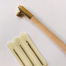 Ремесло Металлический французский с 3 иглами поделки из Бисера обруч Вязание швейный инструмент прочная вышивка тамбур крючком деревянная ручка
