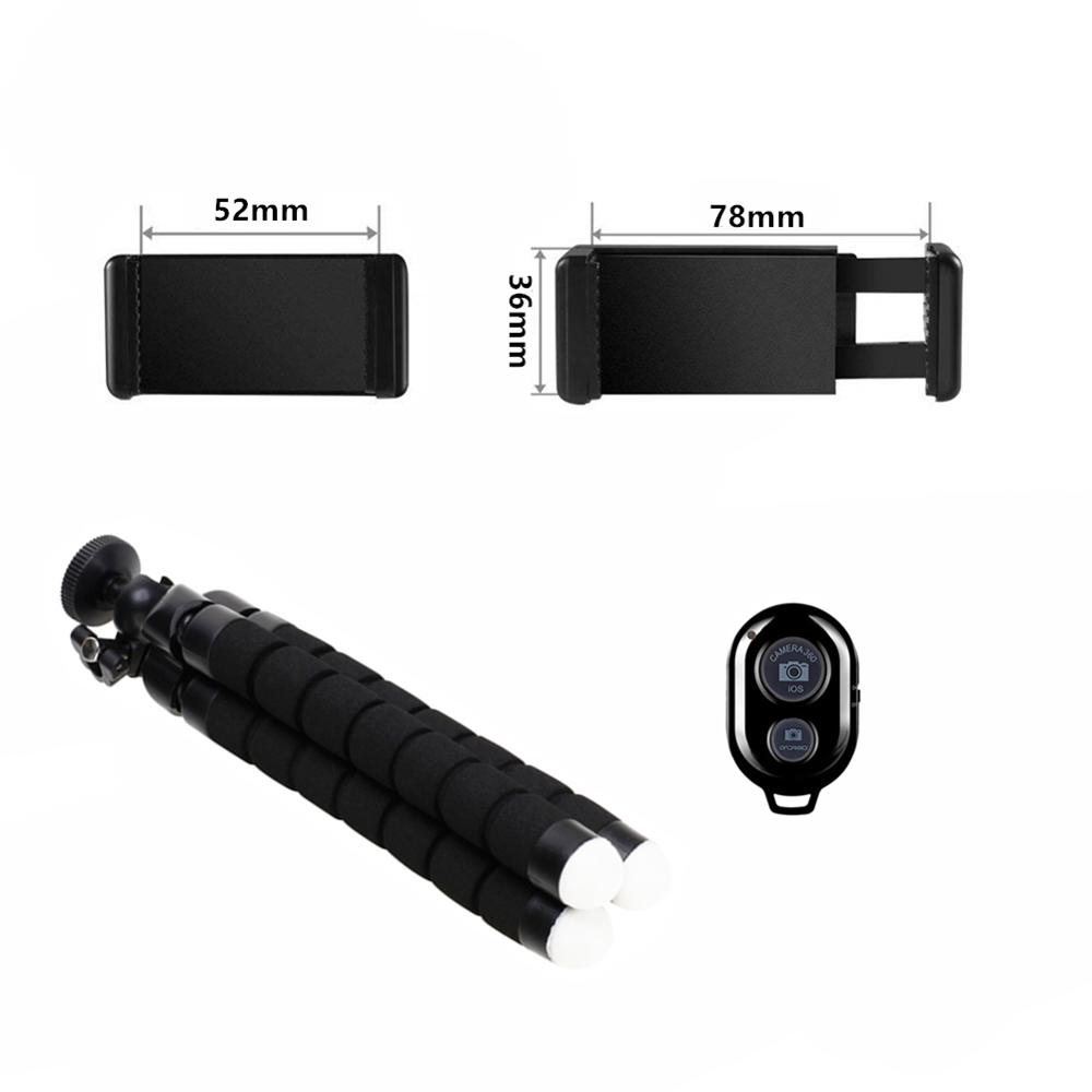 Smartphone Tripod For Phone Tripod For Mobile Monopod Tripod For Camera Holder Selfie Stick Bluetooth Remote Shutter Release 4