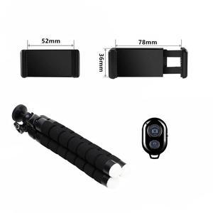 Image 5 - Tripé com bluetooth e controle remoto para celular, tripé para celular, tripé para câmera, suporte para selfie, liberação do obturador