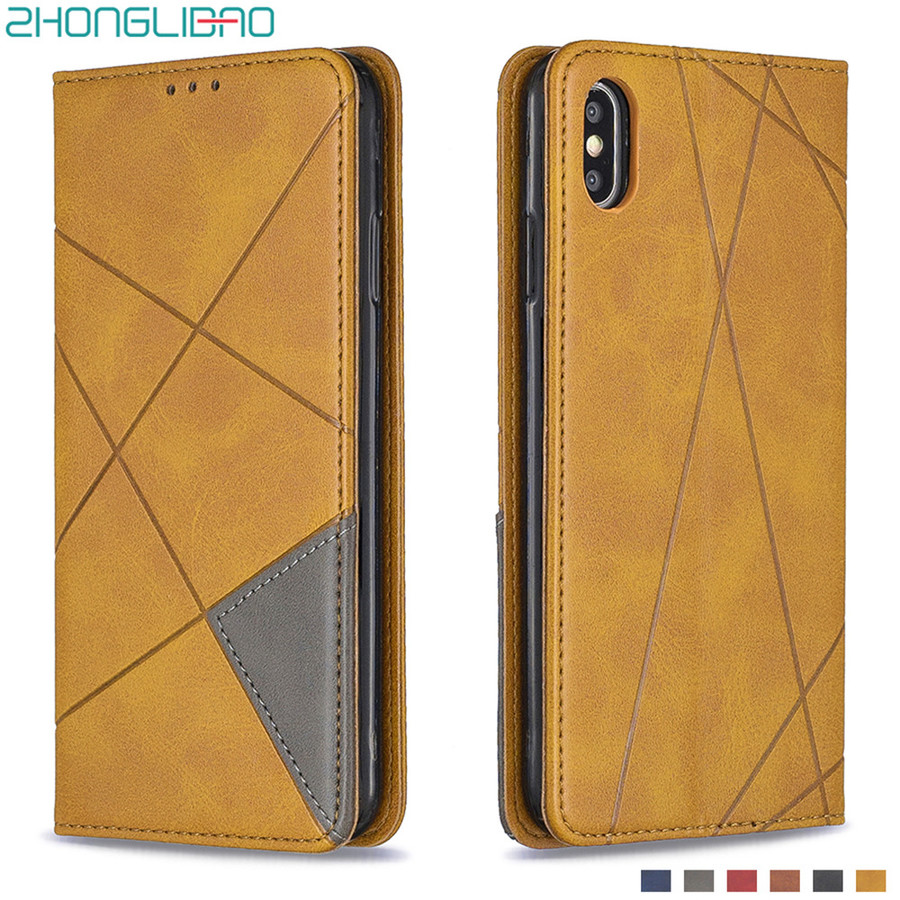 For IPhone 11 Pro Max 2019 New Magnet Leather <font><b>Case</b></font> for IPhone XS Max XR X 7 8 Plus <font><b>Card</b></font> Slot Flip Cover <font><b>IphoneX</b></font> Wallet <font><b>Case</b></font> Etui image