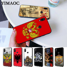 the Flag of Russian bear eagle Silicone Case for Redmi Note 4X 5 Pro 6 5A Prime 7 8