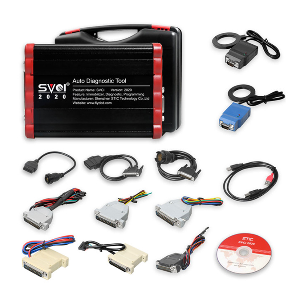 SVCI V2020 Abrites Commander Full Version IMMO Diagnostic Programming Tool with 21 Latest Software