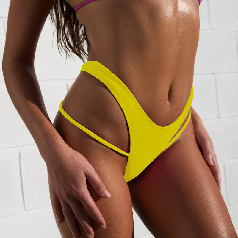 2020 Sexy Women Bikini Bottoms Swimming G-String Briefs Panty Bikini Thong Bottom Swimsuit Brazilian Short Ladies Swimsuit Buy 4