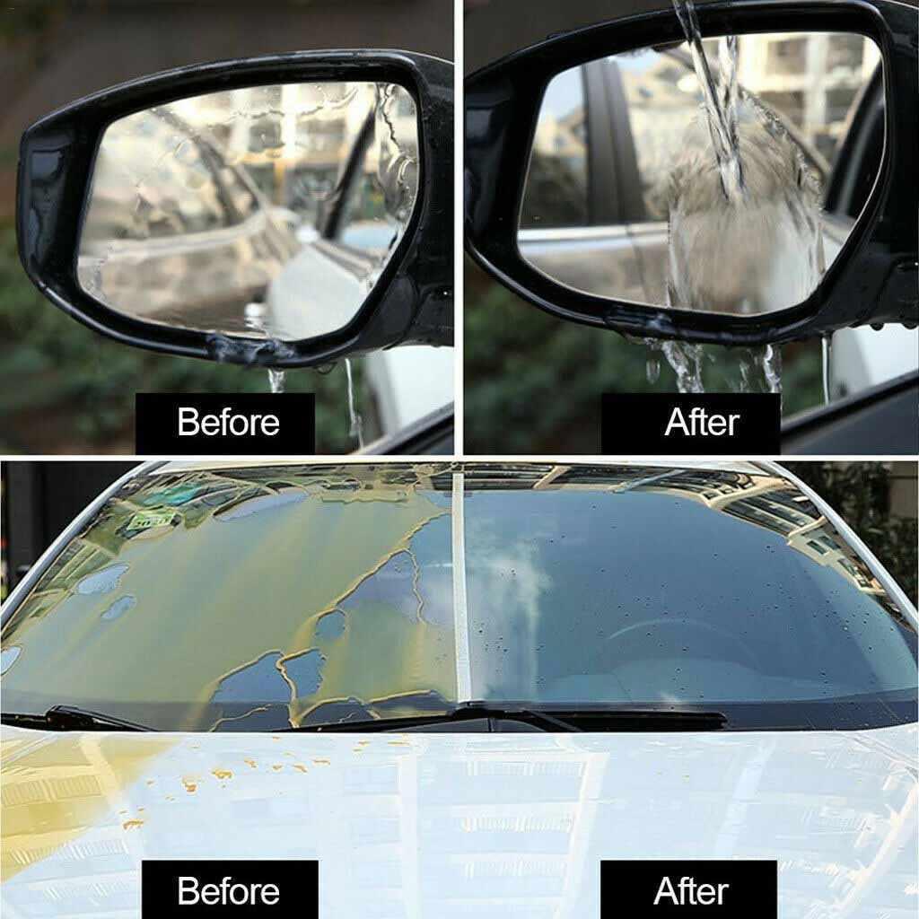 2019 ใหม่แฟชั่นกระจกรถยนต์เคลือบ Agent กันฝน Agent แก้วฝน Mark ฟิล์มน้ำมัน Remover