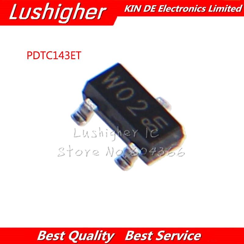10pcs PDTC143ET SOT-23 PDTC143ET-215 SOT23 PDTC143 SOT