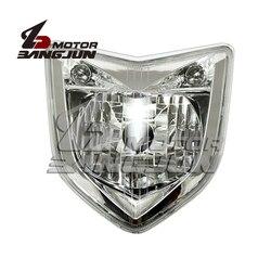 Motocykl czarny reflektor reflektor reflektory przednie u nas państwo lampy montażowe dla Yamaha FZ1000 FZ1N 2006-2007-2008-2009