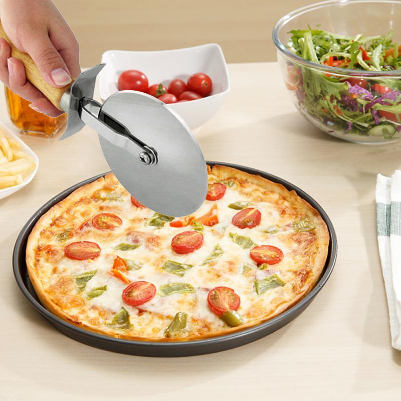 Pizza Couteau cutter outil Gâteau Pizza roues Outils Pizza Tartes Gaufre et cookies