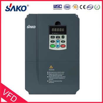 Sako SKI670 5.5KW VFD Input 220V 1ph to Output 380V 3ph High Performance Variable Frequency Inverter