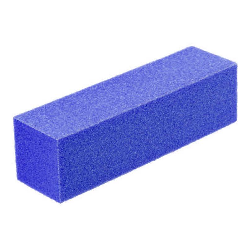 1Pcs Duurzaam Spons Nagelvijl 7 Kleur Manicure Poolse Schuren Nail Buffer Block Buffing Multi-gekleurde Nail Care tool