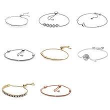 sa silverage 925 sterling silver round bracelets 925 Sterling Silver Bracelets Diy Round Shape Tree Of Life Bracelets For Women Party Jewelry Adjustable Size