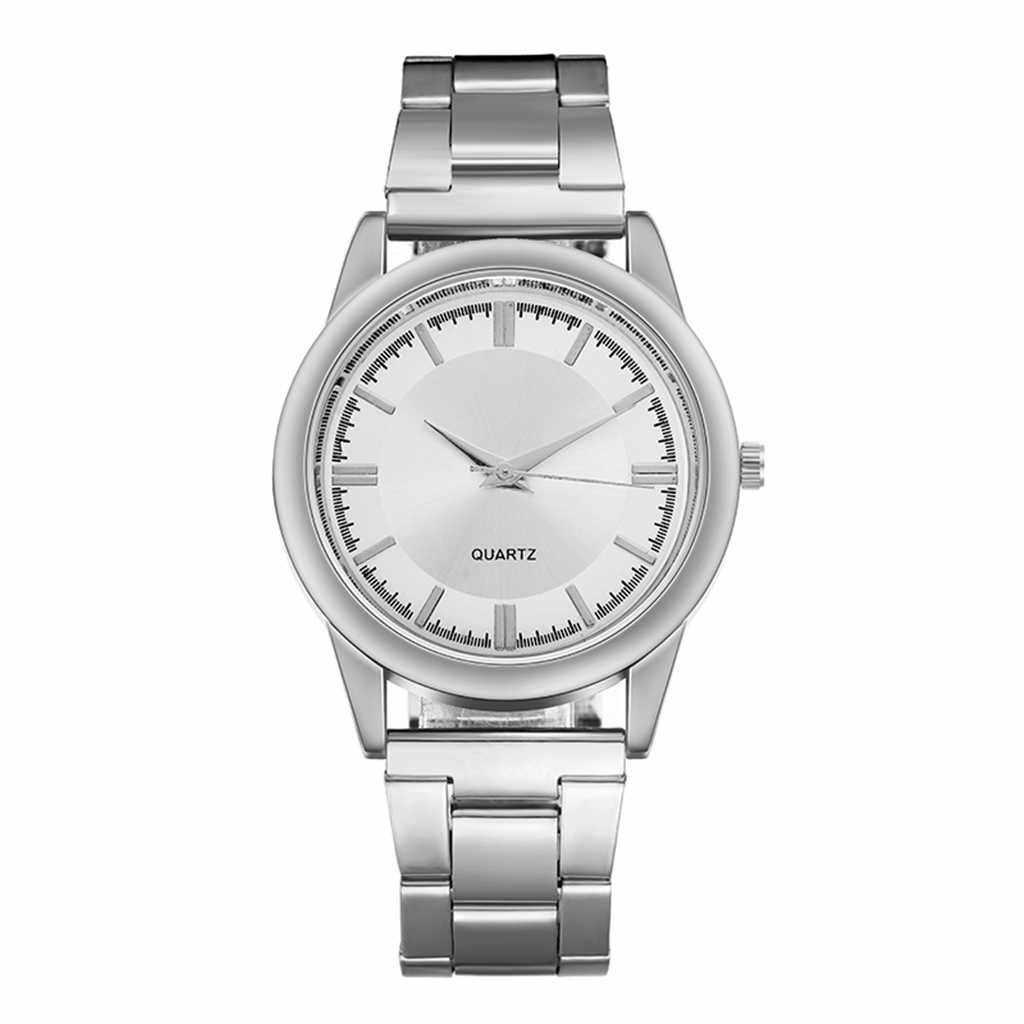 Mode herren Business Uhr Edelstahl Wasser Diamant Britischen Uhr часы мужские