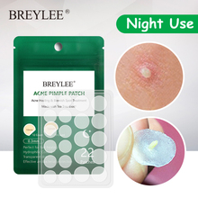 BREYLEE Acne Stickers Acne Treatment Face Mask Removal Acne Face Serum Skin Care Face Cream Whitening Acne Pimples Remover Tools