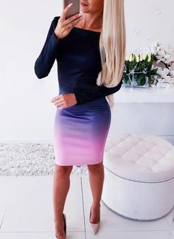 Women Casual Loose Dress Colors Spring Winter Boho Bow Full Long Sleeve Befree Mini Dress Plus Sizes Dresses Robe Femme 2020 5