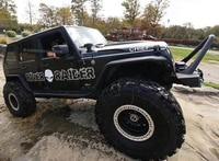 car sticker 1 Pcs brothers hood scoop graphic Vinyl car decal custom for jeep wrangler rubicon sport sahara 4 door