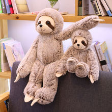 50 см/70 см реалистичные Ленивец кукла плюшевый игрушки плюшевые