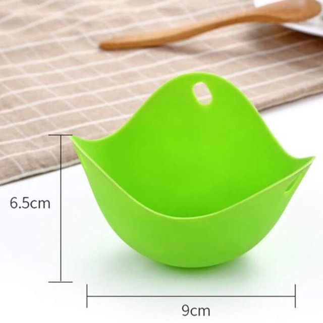 Silicone Egg Poacher Poaching Pods Pan Mould Egg Mold Bowl Rings Cooker Boiler Kitchen Cooking Tool Accessories Gadget #40 6