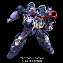 New Transformation Toy TFC Toy Satan S-02 Mammon Figure In Stock