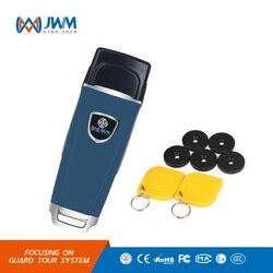JWM RFID sistema de recorrido de la Guardia impermeable patrulla de la Guardia de lector con la nube gratuito Software