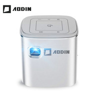 AODIN Fusion 50 Ansi Lumens WIFI portable mini projector DLP LED TV projector, Support 1080P, Stream 50000+ TV/Movies